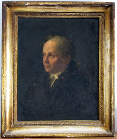 Simon Veit, a friend of Moses Mendelssohn and the first husband of his daughter Brendel.  Johanes Veit, Simon Veit, undated © Jüdisches Museum Berlin.
